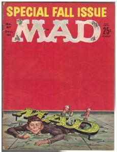 MAD 67 G-VG  Dec. 1961