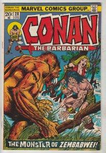Conan the Barbarian #28 (Jul-73) NM- High-Grade Conan the Barbarian