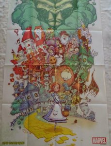 OZ Promo Poster, 24 x 36, 2014, MARVEL Wizard Lion, Unused more in our store 220