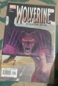 WOLVERINE # 187  2003 marvel  down the road