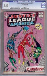 Justice League of America #27 (DC, 1964) CGC 5.0