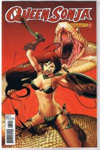 QUEEN RED SONJA #28, NM-, She-Devil, Sword, Frank Martin, 2009, more RS in store