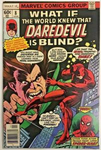 WHAT IF#8 VG/FN 1978 DAREDEVIL MARVEL BRONZE AGE COMICS