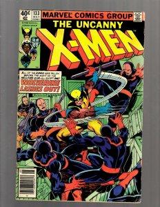 Uncanny X-Men # 133 VG/FN Marvel Comic Book Wolverine Storm Nightcrawler J450