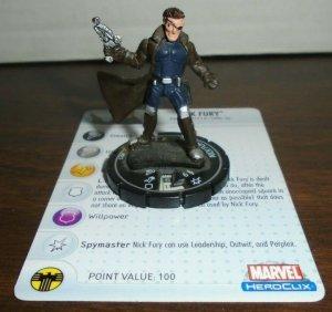 Nick Fury 051 Marvel Heroclix Secret Invasion