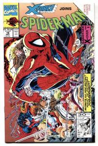 SPIDER-MAN #16  Marvel comic book Sideways issue 1991