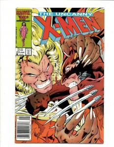 Uncanny X-Men # 213 NM Marvel Comic Book Wolverine Wendigo Storm Cyclops DS4