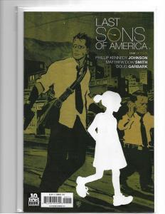 Last Sons of America #1 1st Run Comic! Optioned Netflix Movie! NM