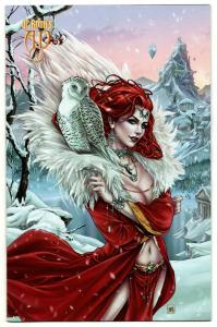 Ancient Dreams #8 Winter Classics Krome Variant (Rothic, 2019) NM