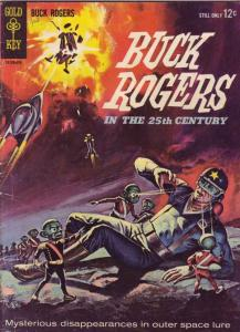 Buck Rogers #1 (Oct-64) VG+ Affordable-Grade Blue Beetle (Don Hunter)