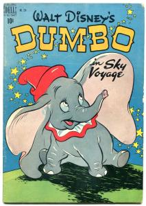 Dumbo in Sky Voyage- Dell Four Color Comics #234 1949- Disney VG+