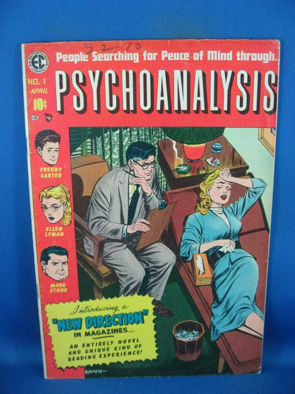 PSYCHOANALYSIS 1 F- EC FIRST ISSUE 1955