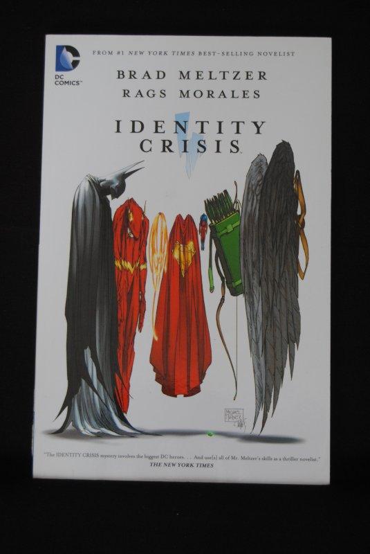Identity Crisis, Brad Meltzer, Rags Morales, TPB
