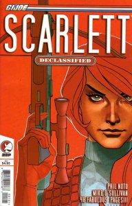 G.I. Joe: Scarlett: Declassified #1 VF/NM; Devil's Due   save on shipping - deta