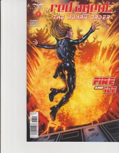 Red Agent Human Order #7 Cover D Zenescope Comic GFT NM Luis