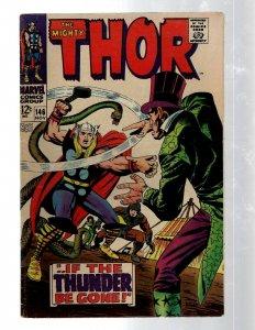 Mighty Thor # 146 VF- Marvel Comic Book Loki Odin Asgard Sif Avengers Hulk RB8