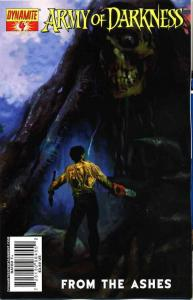 Army of Darkness: From the Ashes #4A VF; Dynamite | save on shipping - details i