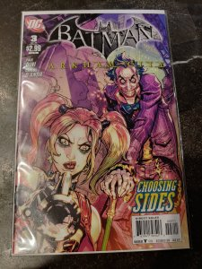 ​BATMAN ARKHAM CITY #3 HARLEY QUINN JOKER NM
