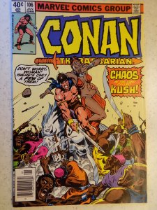 Conan the Barbarian #106 (1980)