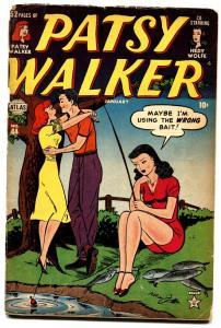 Patsy Walker #44 1948-Atlas-Hedy Wolf-Al Jaffee-paper dolls-G