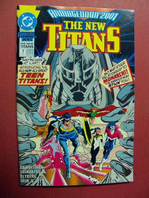 THE NEW TITANS  ANNUAL  #7 VF/NM OR BETTER 1983 DC COMICS