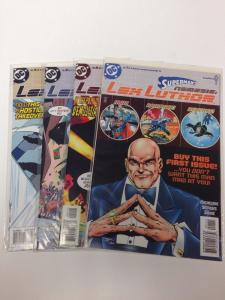 Superman's Nemesis Lex Luther 1-4 Full Run Near Mint Lot