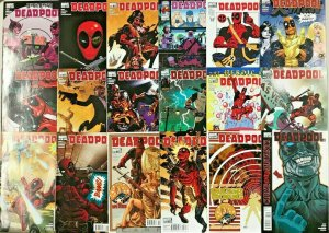 DEADPOOL#12-51 VF/NM LOT (40 BOOKS) 2008  MARVEL COMICS
