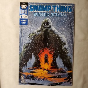 Swamp Thing Winter Special 1 Near Mint-  Cover by Jason Fabok