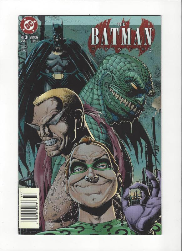 Batman Chronicles  #3 Riddler Killer CrocNM