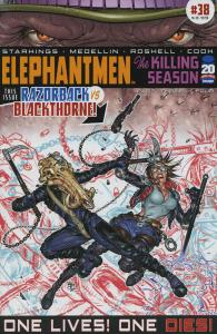 Elephantmen #38 VF/NM; Image | save on shipping - details inside