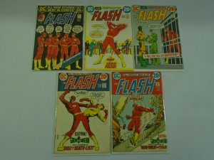 Flash lot 9 different 20c covers from #217-228 avg 5.0 VG FN (1972-74 1st Series