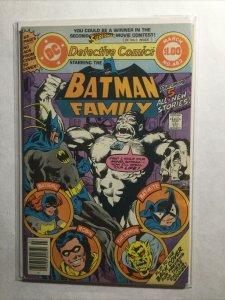 Detective Comics 482 Batman Family Fine- Fn- 5.5 Dc Comics
