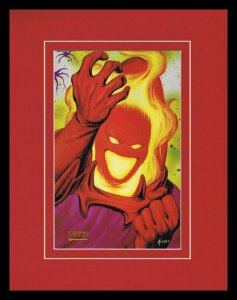 Dormammu 1993 Framed 11x14 Marvel Masterpieces Poster Display