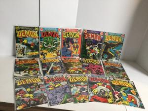 Demon 2-16 Lot Set Run Nm- Near Mint- DC Comics A45