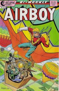 Airboy #32 VF; Eclipse | save on shipping - details inside