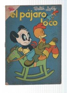 El Pajaro Loco numero 181: Andy Panda y el pollito Carlos
