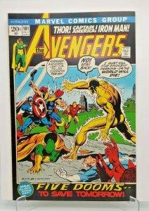 AVENGERS 1972 (MARVEL) #101 VF/NM Hulk Thor Captain America Iron Man