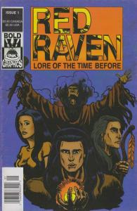 Red Raven: Lore of the Time Before #1 (Newsstand) FN; Bold Ink   save on shippin