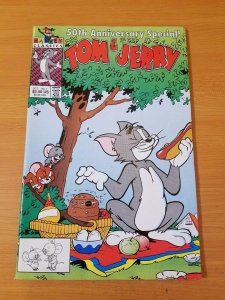 Tom & Jerry 50th Anniversary Special #1 ~ VF - NEAR MINT (1991, Harvey Comics)