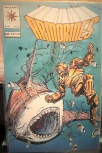 VAILIANT COMIC BOOKS-ARMORINES #2-PUBLISHED:AUGUST 1994-1st SERIES