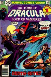 Tomb of Dracula (1972 series) #47, Fine+ (Stock photo)