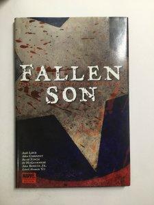 Fallen Son The Death Of Captain America Tpb Hardcover Hc Near Mint Nm Marvel