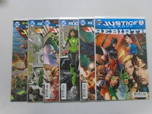Justice League of America Rebirth, 6 Different, 8.0/VF (2016)