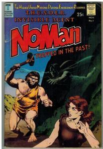 NOMAN 1 F Wood/Williamson cover, Kane art  Nov. 1966