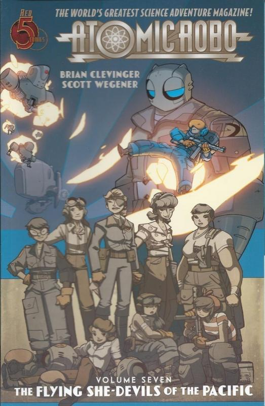 Atomic Robo and the Flying She-Devils of the Pacific TPB #7 VF/NM; Red 5 | save