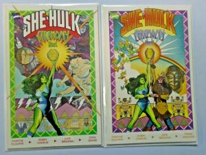 Sensational She-Hulk in Ceremony set #1 to #2 - 8.0 - 1989