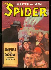 THE SPIDER #5- PULP REPRINT-EMPIRE OF DOOM 2/34-PULP VF/NM