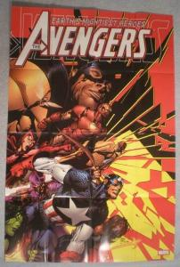 AVENGERS Promo Poster, CAPTAIN AMERICA, 2004, Unused, more in our store