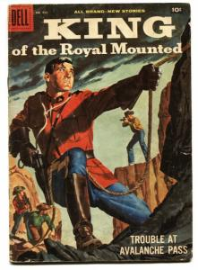 Four Color #935-King of The Royal Mounted 1958-Dell-Zane Grey-VG
