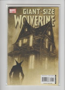 Giant-Size Wolverine #1 (2006) VFNM 9.0 Art and cover by DAVID AJA
